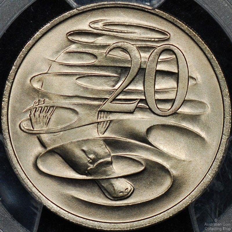 Australian 20 Cent Coin Mintages
