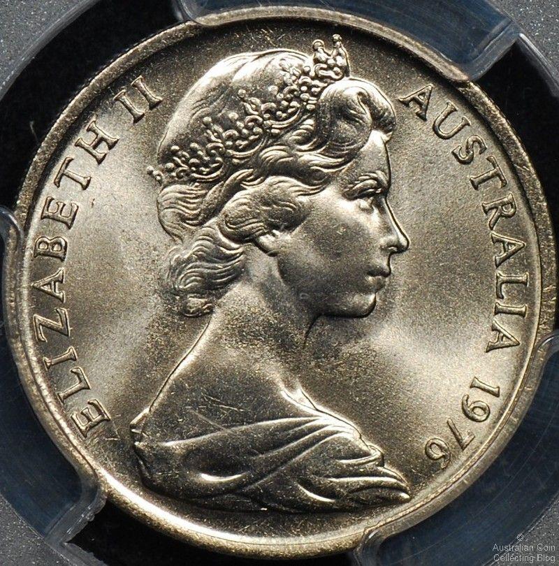 Australian 10 Cent Coin Mintages