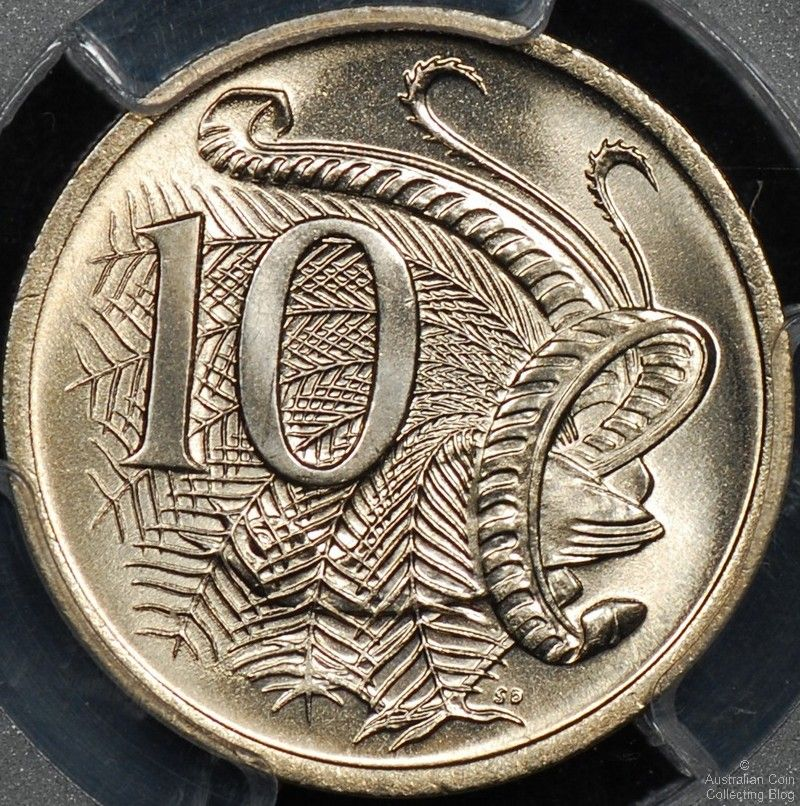 Australian 10 Cent Coin Mintages