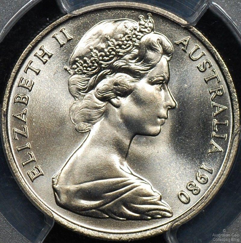 Australian 5 Cent Coin Mintages