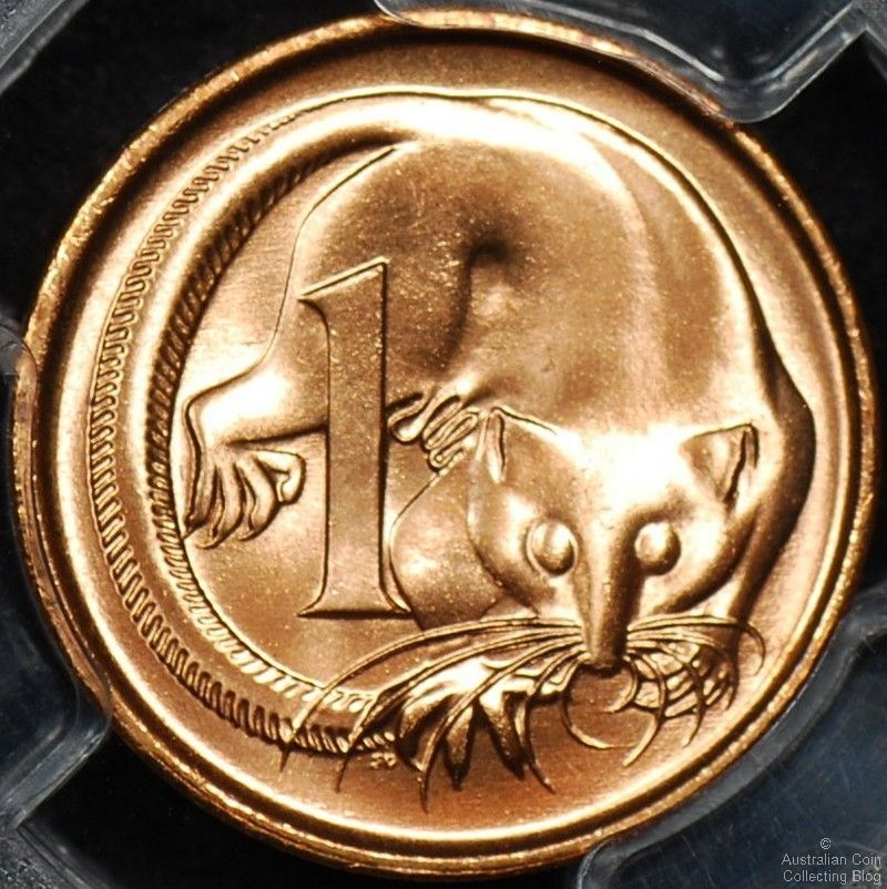 Australian 1 Cent Coin Mintages